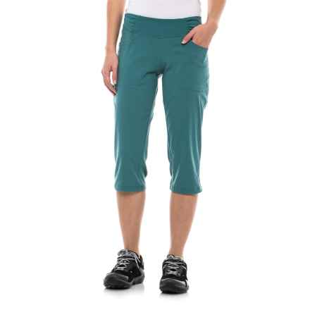 Mountain Hardwear Dynama Capris (For Women) in Cloudburst - Closeouts