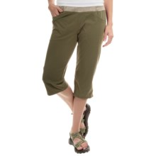 Mountain Hardwear Dynama Capris (For Women) in Stone Green - Closeouts