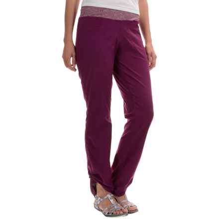 Mountain Hardwear Dynama Pants (For Women) in Dark Raspberry - Closeouts