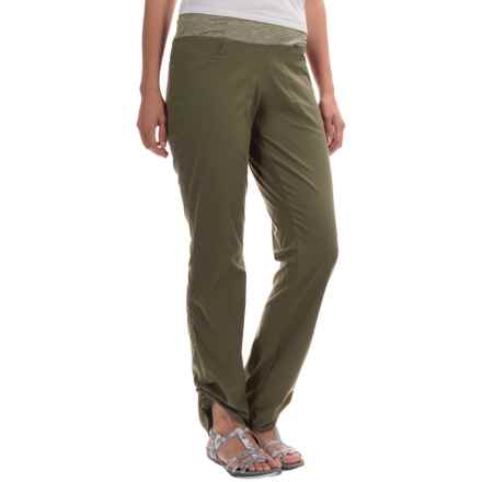 Mountain Hardwear Dynama Pants (For Women) in Stone Green - Closeouts