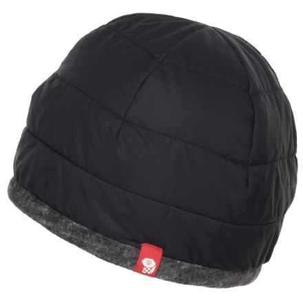 Mountain Hardwear Dynotherm Dome Beanie - Insulated (For Men And Women) in Black - Closeouts