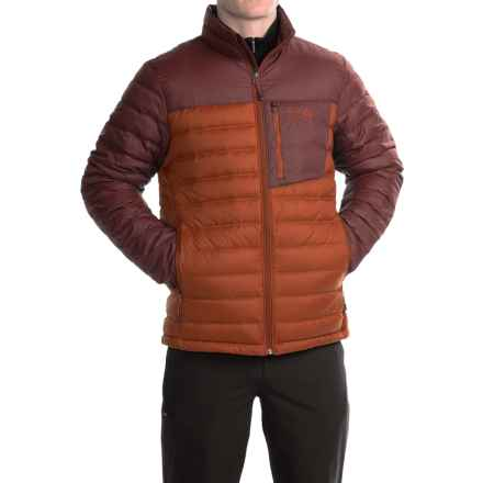 Mountain Hardwear Dynotherm Down Jacket - 650 Fill Power (For Men) in Dark Copper/Redwood - Closeouts