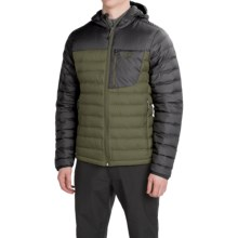 Mountain Hardwear Dynotherm Down Jacket - 650 Fill Power (For Men) in Stone Green/Black - Closeouts