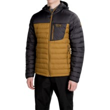 Mountain Hardwear Dynotherm Down Jacket - 650 Fill Power (For Men) in Underbrush/Shark - Closeouts