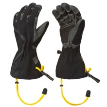 Mountain Hardwear Echidna EPC Gloves - Waterproof, Insulated (For Women) in Black - Closeouts