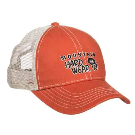 Mountain Hardwear Eddy Rucker Trucker Hat (For Men and Women) in Bonfire - Closeouts