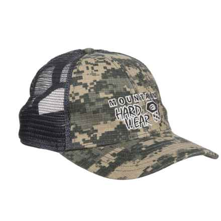 Mountain Hardwear Eddy Rucker Trucker Hat (For Men and Women) in Camo - Closeouts