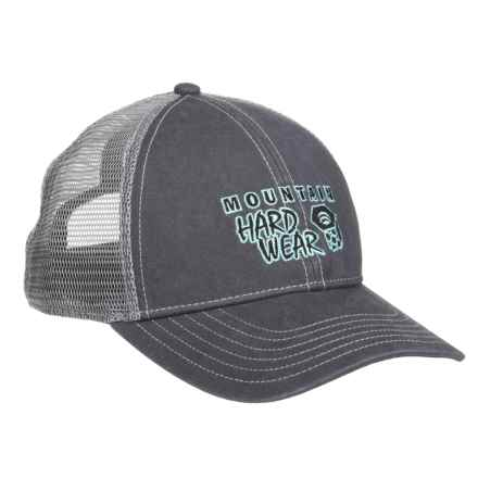 Mountain Hardwear Eddy Rucker Trucker Hat (For Men and Women) in Graphite - Closeouts