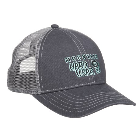 Mountain Hardwear Eddy Rucker Trucker Hat (For Men and Women) in Graphite