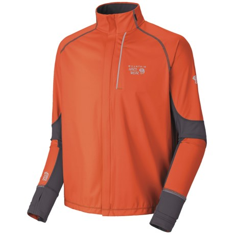Mountain Hardwear Effusion Power Jacket (For Men) in Bonfire/Grill