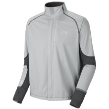 Mountain Hardwear Effusion Power Jacket (For Men) in Cool Grey/Grill - Closeouts