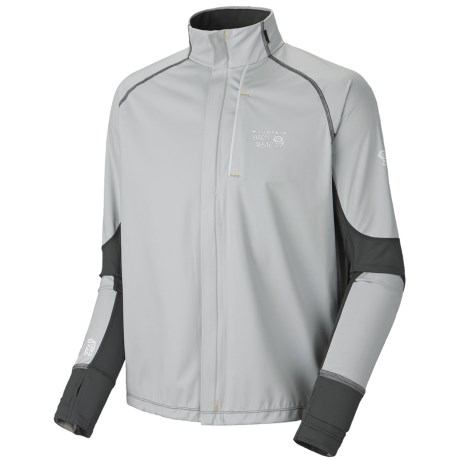 Mountain Hardwear Effusion Power Jacket (For Men) in Cool Grey/Grill