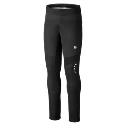 Mountain Hardwear Effusion Power Tight Air Shield Active Tights (For Men) in Black