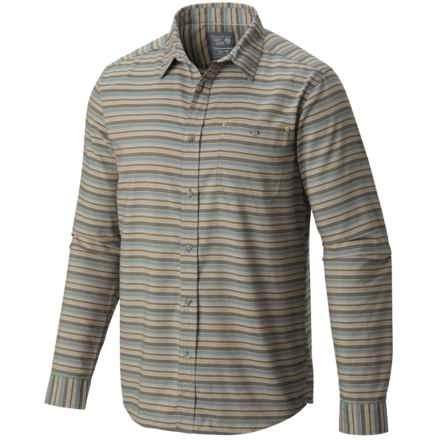 Mountain Hardwear El Cerrito Shirt - UPF 25, Long Sleeve (For Men) in Bluesteel - Closeouts