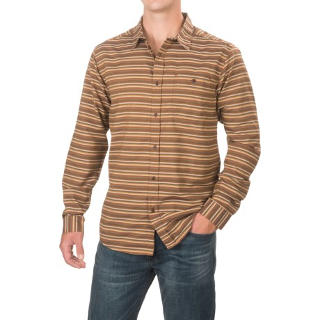 Mountain Hardwear El Cerrito Shirt - UPF 25, Long Sleeve (For Men) in Brownstone