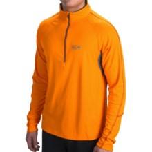 Mountain Hardwear Elmodo Shirt - Zip Neck, Long Sleeve (For Men) in Solarize - Closeouts
