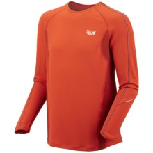 Mountain Hardwear Elmoro Shirt - UPF 25, Long Sleeve (For Men) in Autumn Orange - Closeouts