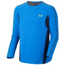 Mountain Hardwear Elmoro Shirt - UPF 25, Long Sleeve (For Men) in Static Blue - Closeouts