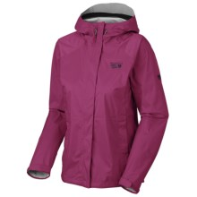 Mountain Hardwear Epic Dry.Q Core Jacket - Waterproof (For Women) in Red Onion - Closeouts