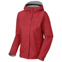 Mountain Hardwear Epic Dry.Q Core Jacket - Waterproof (For Women) in Ruby - Closeouts