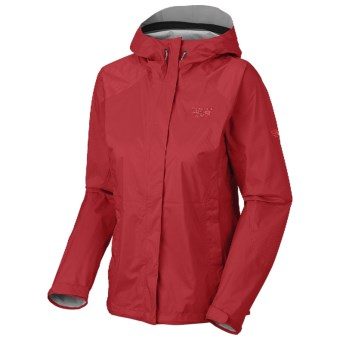 Mountain Hardwear Epic Dry.Q Core Jacket - Waterproof (For Women) in Ruby