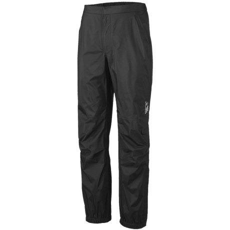 Mountain Hardwear Epic Dry.Q Core Pants - Waterproof (For Men) in Black