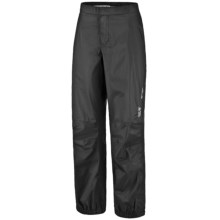 Mountain Hardwear Epic Dry.Q Core Pants - Waterproof (For Women) in Black - Closeouts