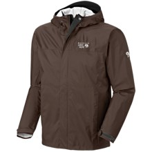 Mountain Hardwear Epic Dry.Q Jacket - Waterproof (For Men) in Cordovan - Closeouts