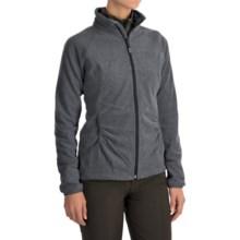 Mountain Hardwear Escalon Heather Fleece Jacket (For Women) in Heather Black - Closeouts