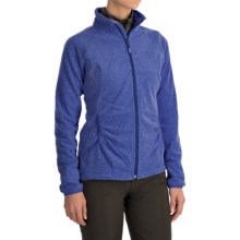 Mountain Hardwear Escalon Heather Fleece Jacket (For Women) in Heather Dynasty - Closeouts
