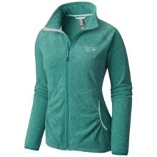 Mountain Hardwear Escalon Heather Fleece Jacket (For Women) in Heather Teal Green - Closeouts