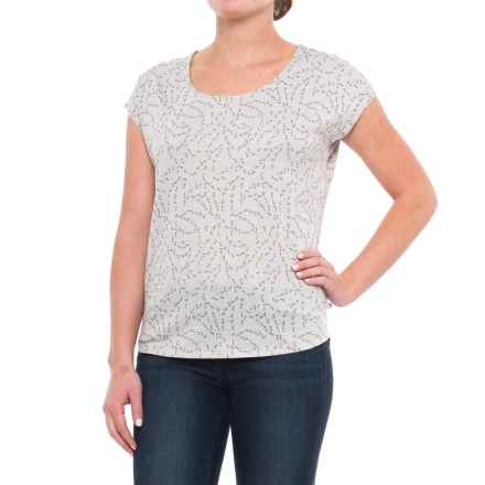 Mountain Hardwear Everyday Perfect Printed Shirt - UPF 25, Short Sleeve (For Women) in Grey Ice - Closeouts