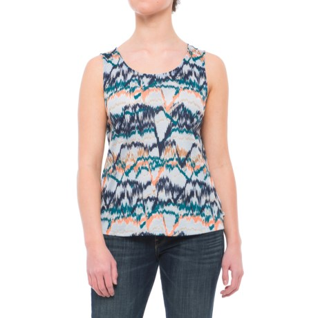 Mountain Hardwear Everyday Perfect Printed Tank Top - UPF 25 (For Women) in Atmosfear