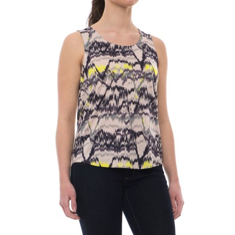 Mountain Hardwear Everyday Perfect Printed Tank Top - UPF 25 (For Women) in Suave Mauve