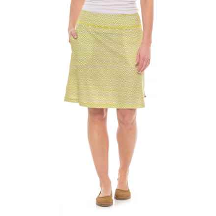 Mountain Hardwear Everyday Perfect Skirt - UPF 25 (For Women) in Sticky Note - Closeouts