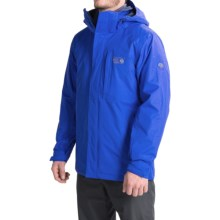 Mountain Hardwear Excursion Trifecta Dry.Q® Core Jacket - Waterproof, Insulated, 3-in-1 (For Men) in Azul/Collegiate Navy - Closeouts