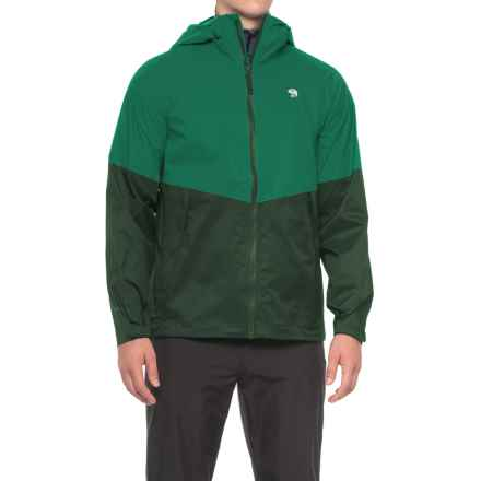 Mountain Hardwear Exponent Jacket - Waterproof (For Men) in Plastic Fern - Closeouts