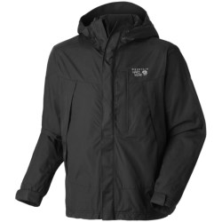 Mountain Hardwear Exposure Dry.Q Elite Parka - Waterproof (For Men) in Red/Black