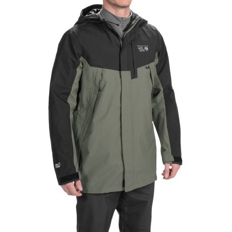 photo: Mountain Hardwear Exposure Parka waterproof jacket