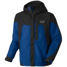 Mountain Hardwear Exposure Dry.Q Elite Parka - Waterproof (For Men) in Royal/Black - Closeouts