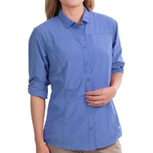 Mountain Hardwear Fairfax Shirt - Roll-Up Long Sleeve (For Women) in Blue Streak - Closeouts