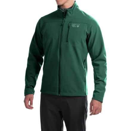Mountain Hardwear Fairing Soft Shell Jacket (For Men) in Dark Forest - Closeouts