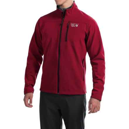 Mountain Hardwear Fairing Soft Shell Jacket (For Men) in Smolder Red - Closeouts