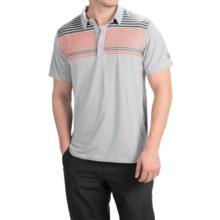 Mountain Hardwear Fairland Stripe Polo Shirt - Short Sleeve (For Men) in Steam - Closeouts