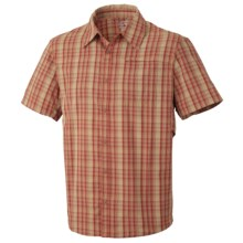 Mountain Hardwear Fallon Shirt - UPF 50, Short Sleeve (For Men) in Flame - Closeouts