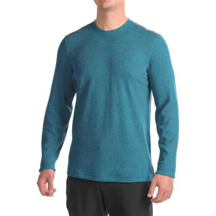 Mountain Hardwear Fallon Thermal Shirt - Long Sleeve (For Men) in Phoenix Blue - Closeouts