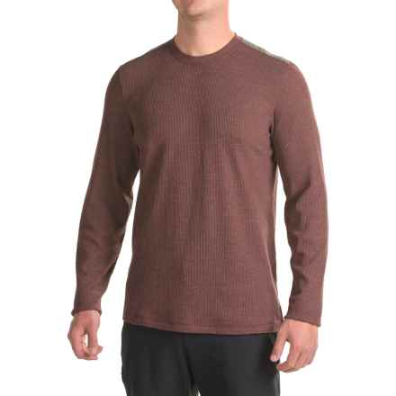 Mountain Hardwear Fallon Thermal Shirt - Long Sleeve (For Men) in Redwood - Closeouts