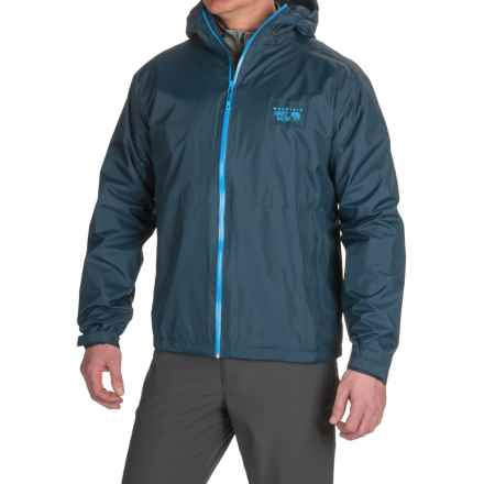 Mountain Hardwear Finder Dry.Q® Core Jacket - Waterproof (For Men) in Hardwear Navy - Closeouts