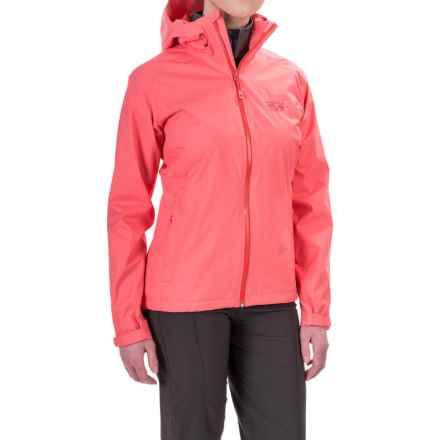 Mountain Hardwear Finder Dry.Q® Core Jacket - Waterproof (For Women) in Paradise Pink - Closeouts