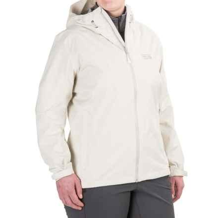 Mountain Hardwear Finder Dry.Q® Core Jacket - Waterproof (For Women) in Stone - Closeouts